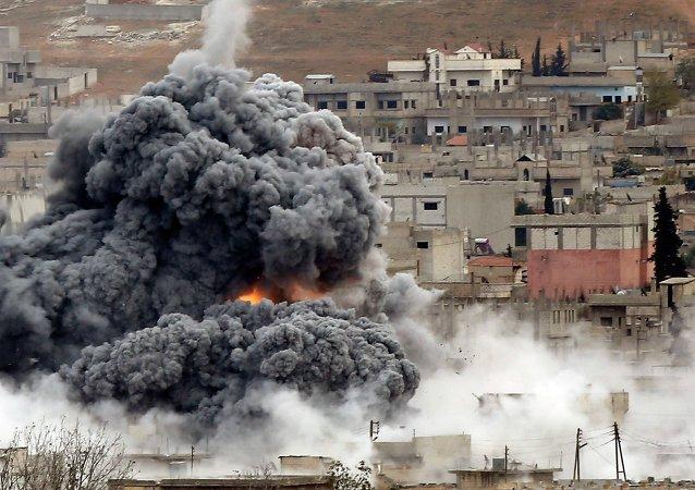 Explosión en Siria (Archivo)