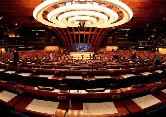 El plenario de la Asamblea Parlamentaria del Consejo de Europa