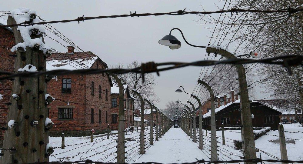 Auschwitz-Birkenau, en Polonia
