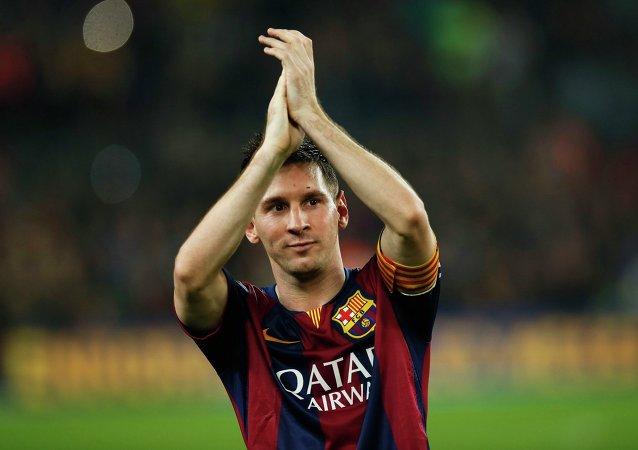 Lionel Messi, futbolista del Barça (archivo)