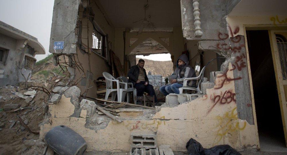 Situación en la Franja de Gaza (archivo)