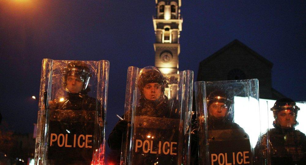 Enfrentamientos en Kosovo (archivo)