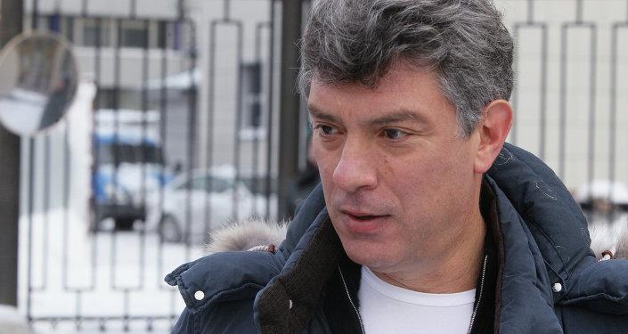 Opositor Borís Nemtsov