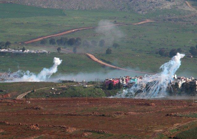 Situación en la frontera entre Israel y el Líbano