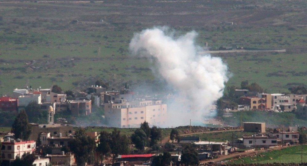 Ataque a una columna militar israelí en la frontera entre Líbano y Israel