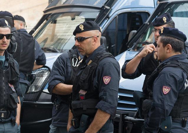La policía italiana (archivo)
