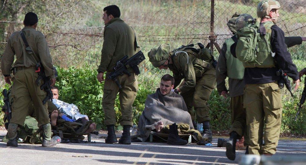 Soldados israelíes heridos en la frontera de Israel con el Líbano