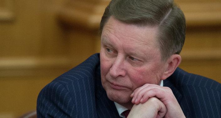Serguéi Ivanov, jefe de la Administración del Kremlin