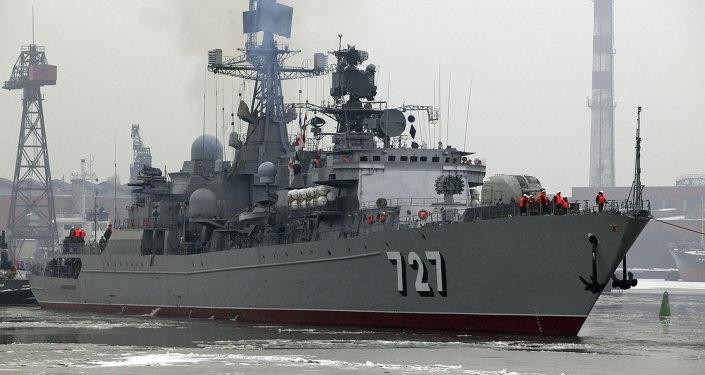 Patrullero Yaroslav Mudri se incorpora a los arsenales de la Armada rusa