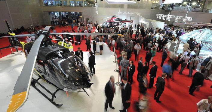 La feria internacional de helicópteros HeliRussia 2015 se inaugura en mayo en Moscú
