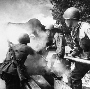 Soldados soviéticos durante la Segunda Guerra Mundial