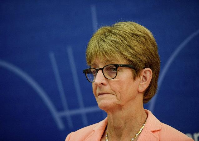 Anne Brasseur, presidenta saliente de la Asamblea Parlamentaria del Consejo de Europa (PACE)