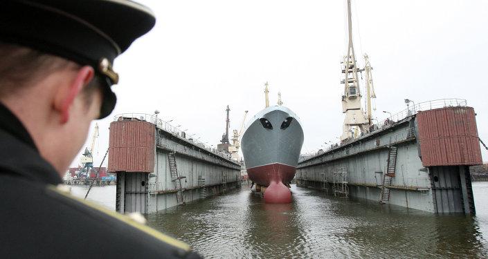 Almirante Gorshkov, primera fragata del proyecto 22350