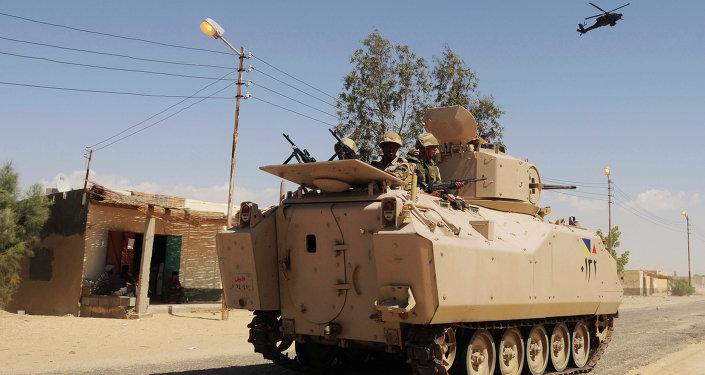 Militares egipcios