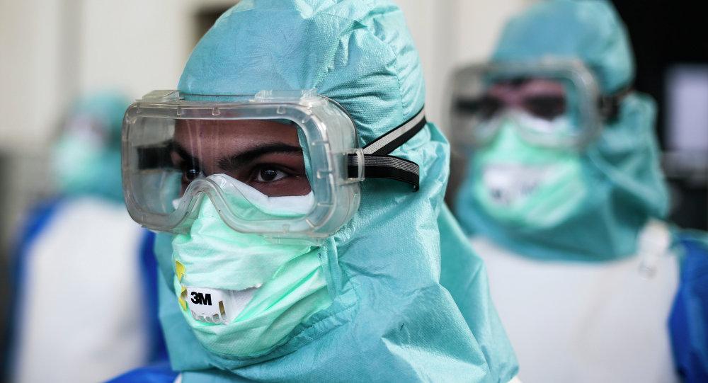 Trabajadores de la Salud que luchan contra ébola