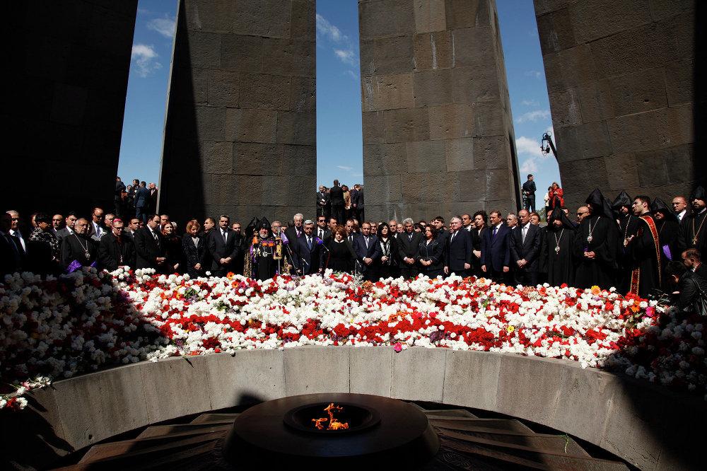 Conmemoración del genocidio armenio (Archivo)