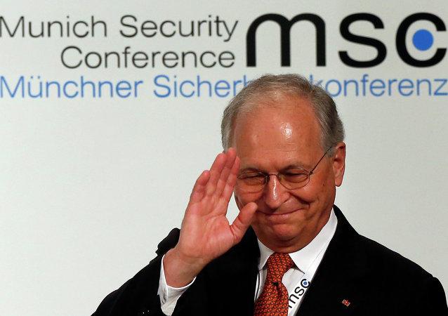 Wolfgang Ischinger, presidente de la Conferencia de Múnich