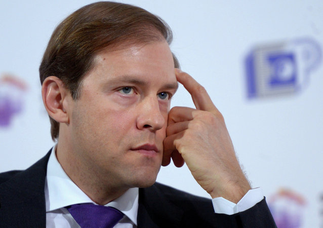 Denís Manturov, ministro de Industria y Comercio de Rusia