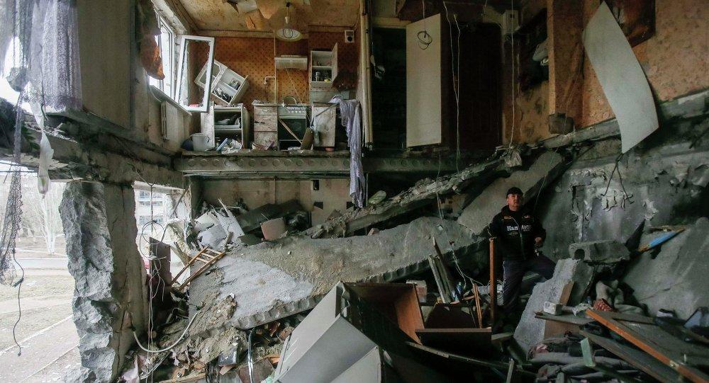 Consequencias de los ataques de Donetsk, 2 de febrero, 2015
