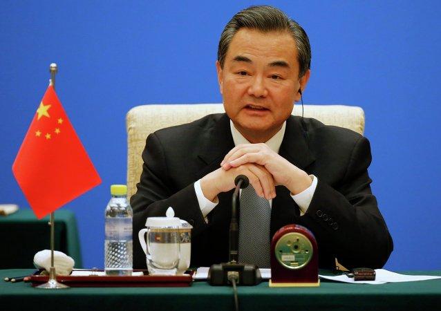 Wang Yi, ministro chino de Asuntos Exteriores