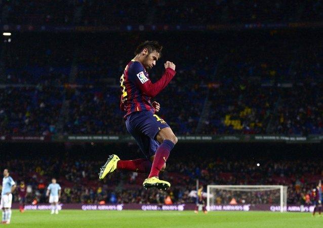 El futbolista del FC Barcelona Neymar