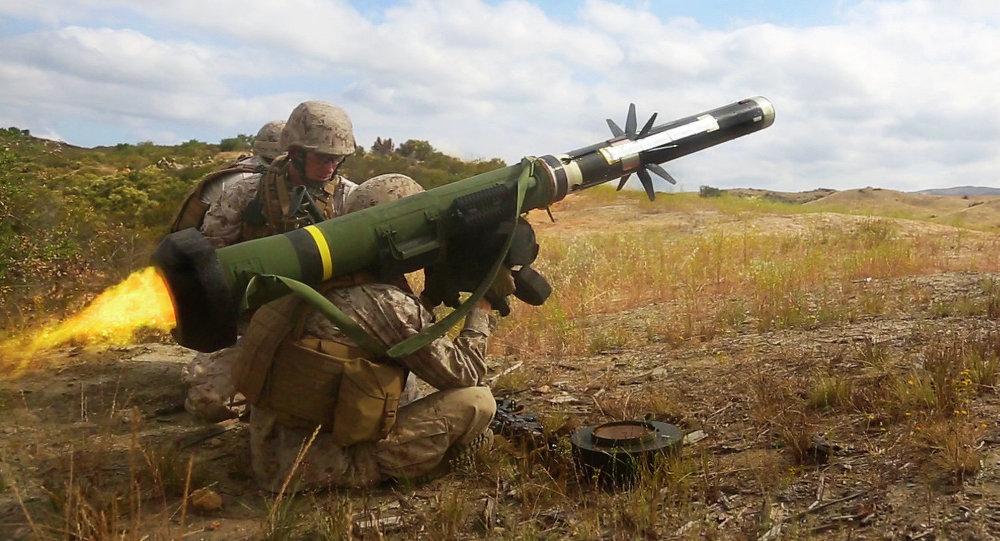 Misil portátil antitanque Javelin