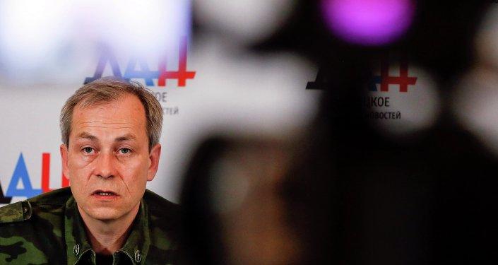 Eduard Basurin, subcomandante de las milicias de Donetsk