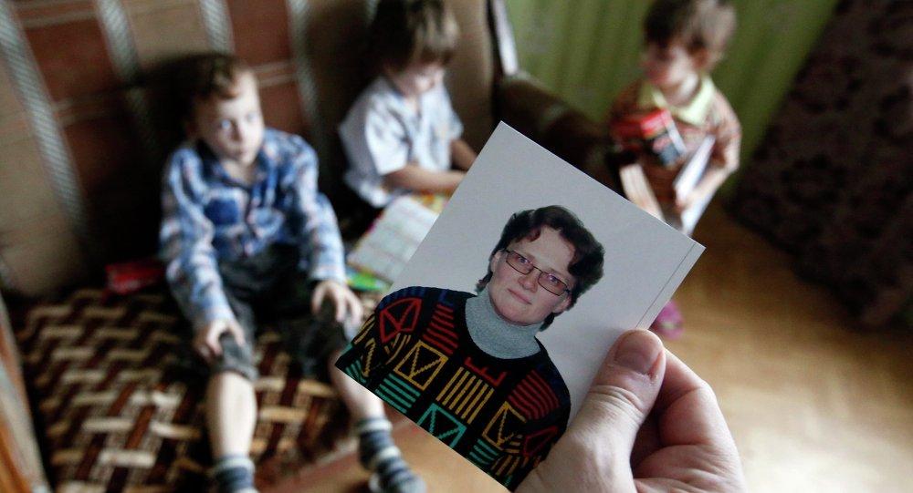 Hijos de Svetlana Davídova, acusada de alta traición a favor de Ucrania