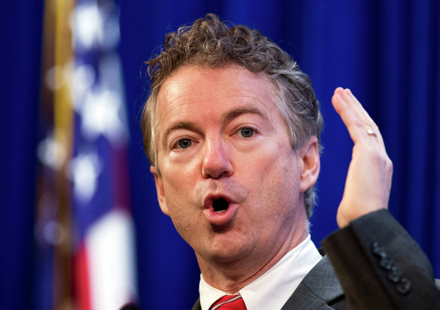 Rand Paul, senador republicano de EEUU