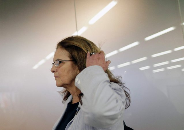 Graça Foster, presidenta de la petrolera Petrobras