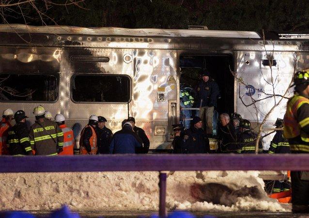 Devastador accidente de tren en Nueva York con siete muertos
