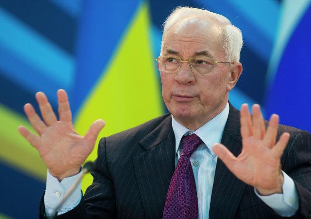 Nikolái Azárov, ex primer ministro de Ucrania