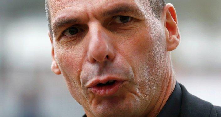 Yanis Varoufakis, ministro heleno de Finanzas