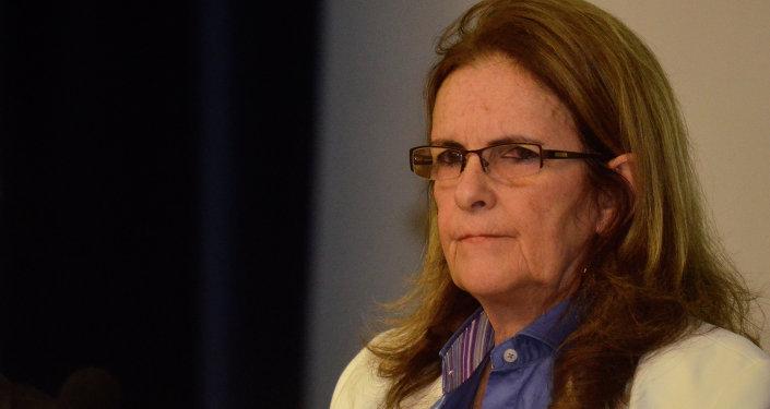 Graça Foster, presidenta de Petrobras