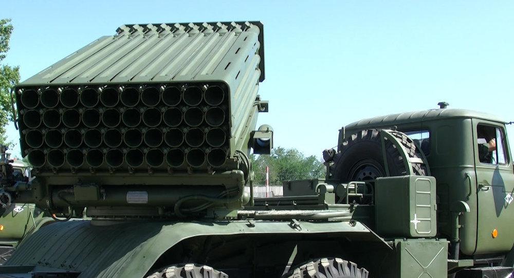 Военные в Волгограде первыми осваивают реактивные системы Торнадо-Г