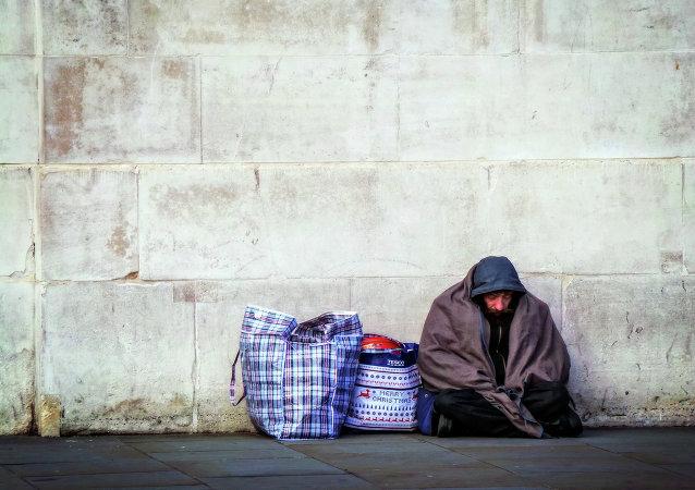 Se dispara el número de indigentes en Inglaterra