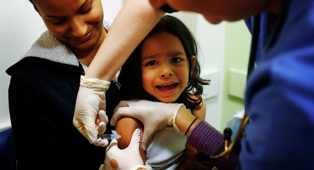 Vacunar a hijos en EEUU