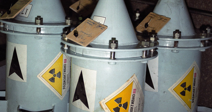 Сontenedores con combustible nuclear