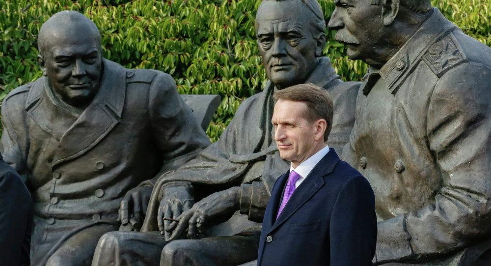 Apertura de los monumento de los líderes de coalición anti-hitleriana