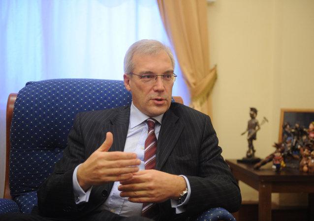 Alexandr Grushkó, el representante de Rusia ante la OTAN