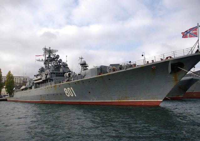 El buque patrullero Ladni