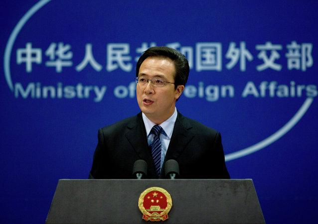Hong Lei, ministerio de Exteriores de China