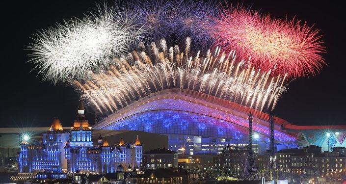 Ceremonia de apertura de los JJOO de Sochi 2014