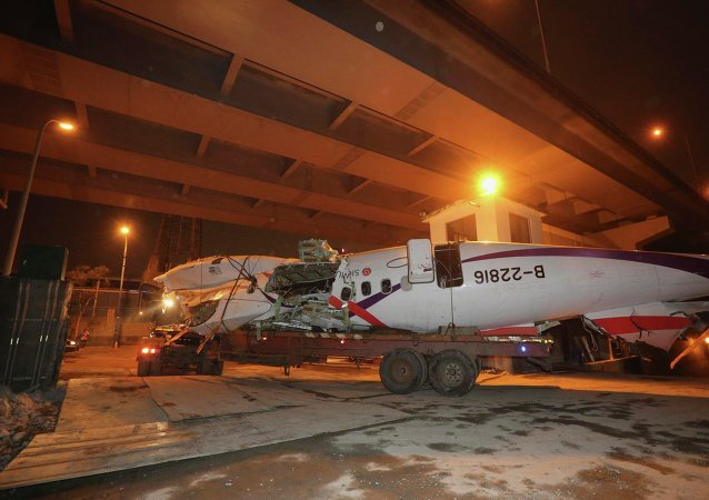 Accidente del avión de TransAsia Airways en Taiwán