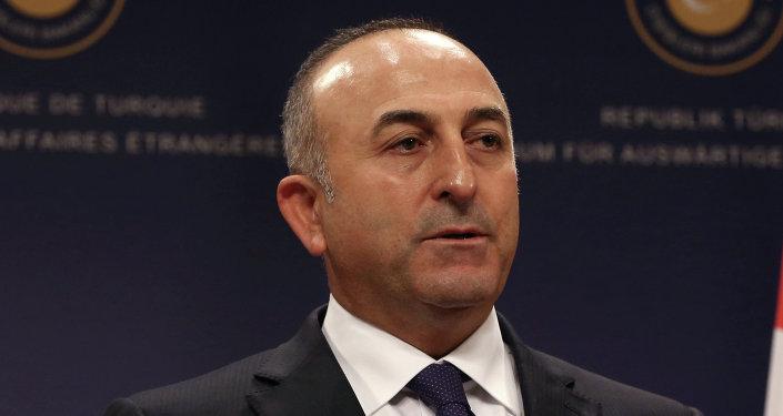 Mevlut Cavusoglu, ministro de Exteriores de Turquía (archivo)