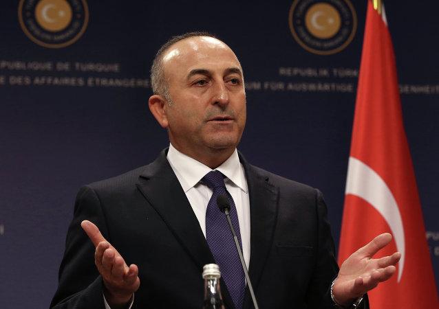 Mevlut Cavusoglu, canciller turco