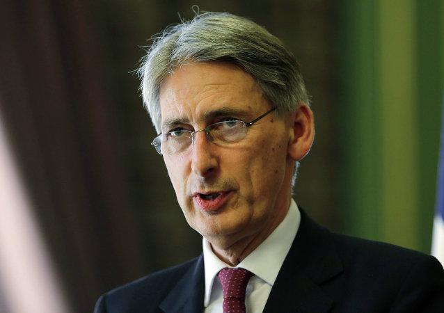 Philip Hammond, ministro de Finanzas del Reino Unido