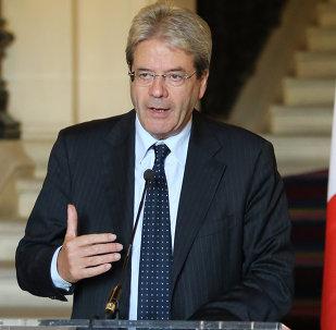 Paolo Gentiloni, ministro de Exteriores de Italia