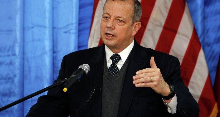 John Allen, enviado especial de EEUU para combatir al Estado Islámico (EI)
