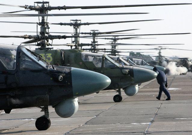 Helicópteros de ataque Ka-52 Alligator